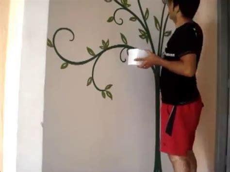 Pintura decorativa em parede   entrada   YouTube