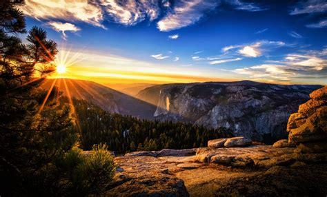 Pintura del paisaje Amaneceres y atardeceres Sol Rayos de ...