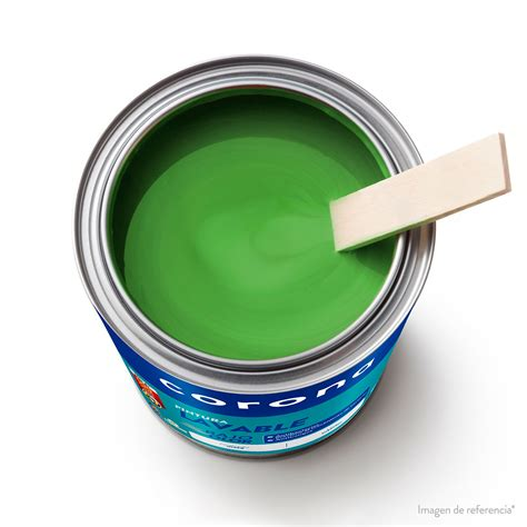 Pintura Lavable verde primaveral 1 Galón | Corona Colombia