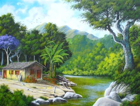 pintura paisaje realista   Buscar con Google | Pinturas ...