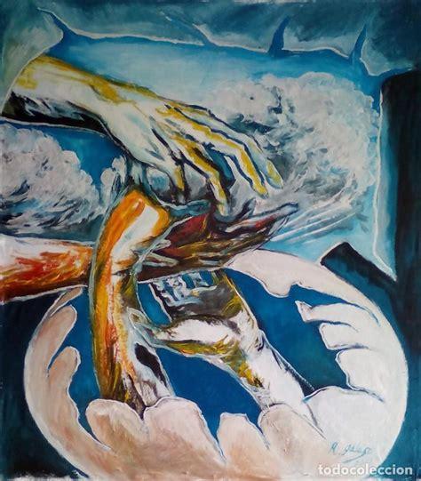 pintura surrealista,firmada   Comprar Pintura al Óleo ...