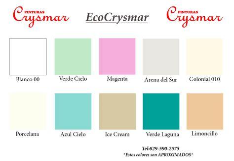 Pinturas Crysmar   Carta de Colores   Pinturas Crysmar