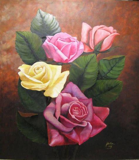 pinturas de flores al oleo   Google da Ara | dekopaj ...