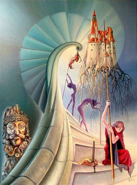 Pinturas surrealistas de Lohmuller Gyuri – Arte Feed