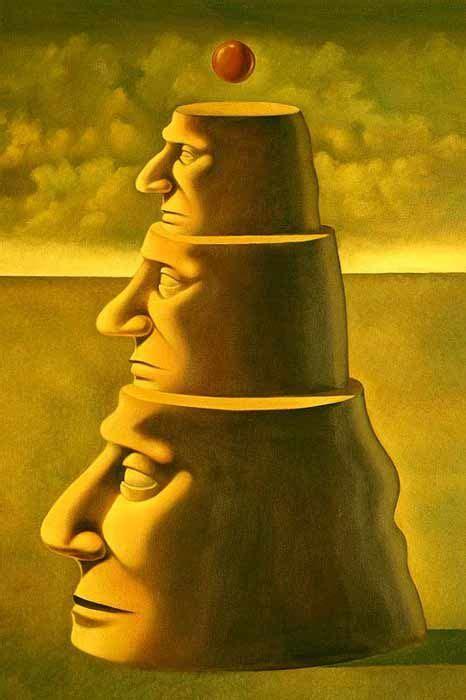 Pinturas Surrealistas de Ruben Cukier, pintura surrealista ...