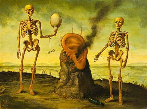 Pinturas surrealistas y sobrenaturales | Rincón Abstracto