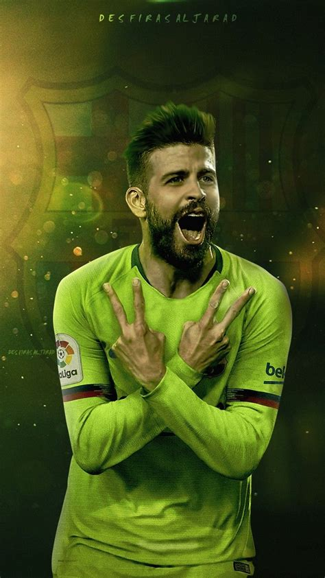 PIQUE WALLPAPER | Futbol wallpapers, Sevilla futbol club ...