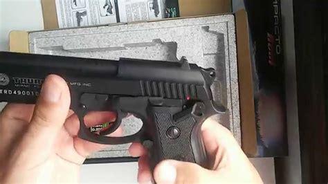 Pistola de Airsoft Taurus pt99 co2   YouTube