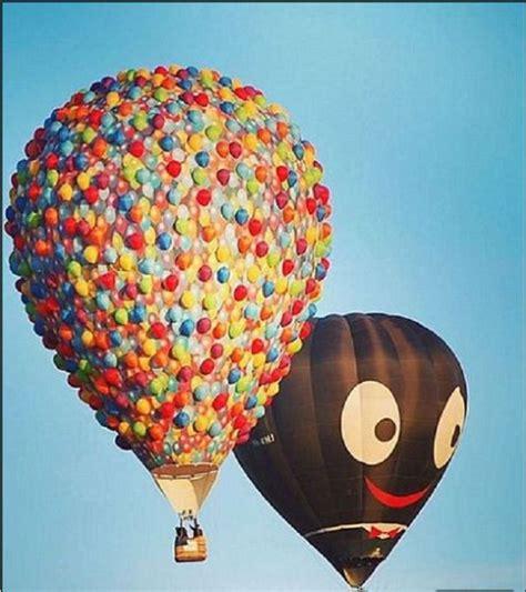 Pixar película UP globo aerostático de la casa de UP ...