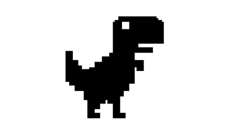 Pixilart   google dinosaur by Shadow BonniexD