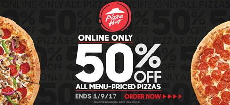 Pizza Hut kicks off year with 50% discount | Nation s ...