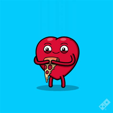 Pizza te amo valentines day GIF on GIFER   by Snowbringer