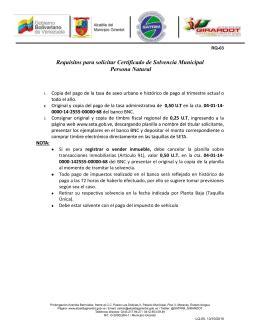 PL 2543 0 Autorización consulta riesgos CIRBE y ficheros ...