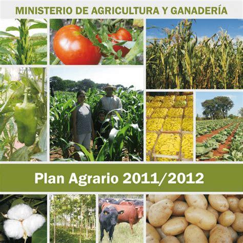 Plan agrario final web   Ministerio de Agricultura y Ganadería