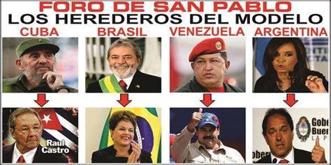 Plan Comunista de #AMLO y Foro de Sao Paulo.