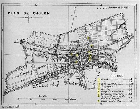 PLAN DE CHOLON 1893 | seasiavisions.library.cornell.edu ...