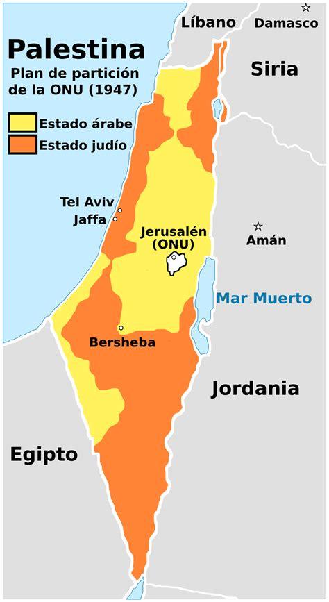 Plan de las Naciones Unidas para la partición de Palestina ...