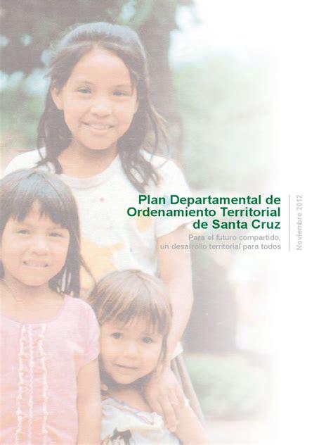 Plan de Ocupación Territorial del Departamento Autónomo de ...