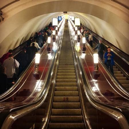Plan du métro de Saint Pétersbourg, La Russie