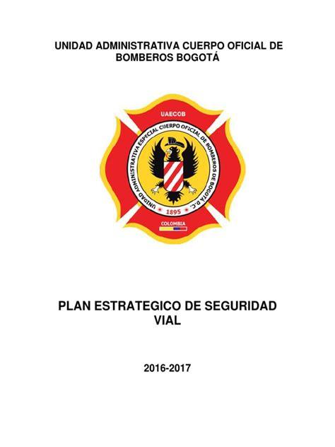 Plan Estrategico de Seguridad Vial Vf PDF   Seguridad vial ...