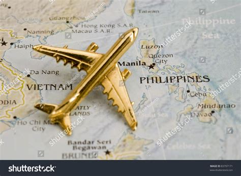 Plane Over Phillipines, Map Is Copyright Free Off A ...