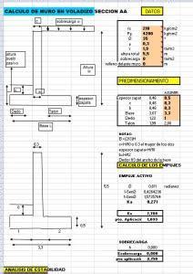 Planilla muro contencion en XLS   Descargar CAD  39.09 KB ...