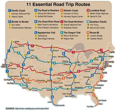 Planning the GART  Great American Road Trip  pt. 1 ...