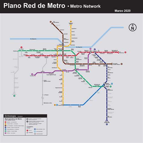 Plano de Red   Tu Viaje   Metro de Santiago