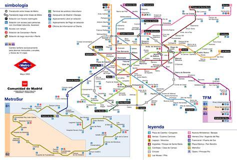 Plano del Metro de Madrid #infografia #infographic #maps ...