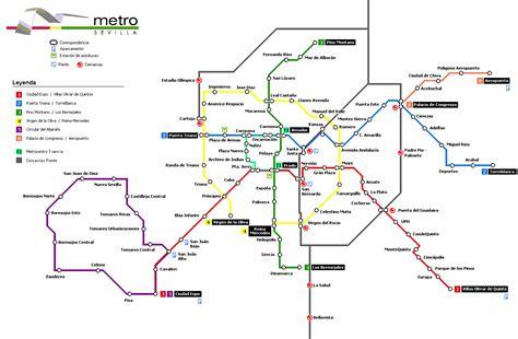 Plano del Metro de Sevilla #infografia #infographic #maps ...