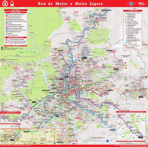 Plano Metro Madrid 2013 by Producciones MIC S.L.   Issuu