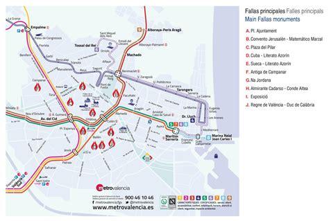 Plano Metro Valencia 2016