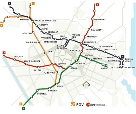 Plano Metro Valencia Pdf
