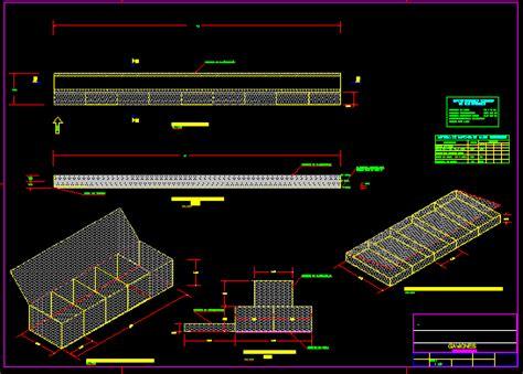 Planos de Gaviones   muro de contencion, en Consolidación ...