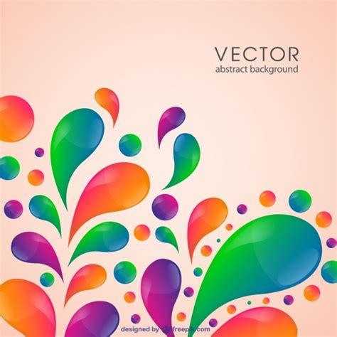 Plantilla con formas abstractas de pintura | Vector Gratis