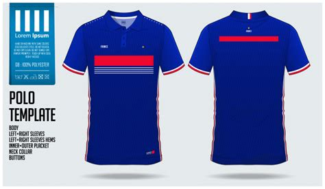Plantilla de deporte de camiseta de fútbol francia team ...