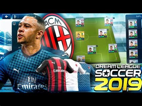 Plantilla del AC Milán 2021 para Dream League Soccer 2019 ...