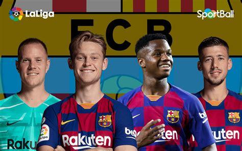 Plantilla del Barcelona 2020 2021 con estadísticas y ...