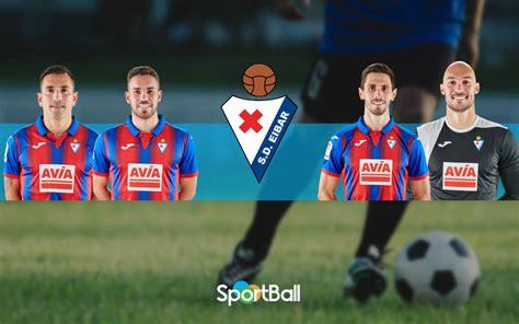 Plantilla del Eibar 2020 y estadísticas de los jugadores
