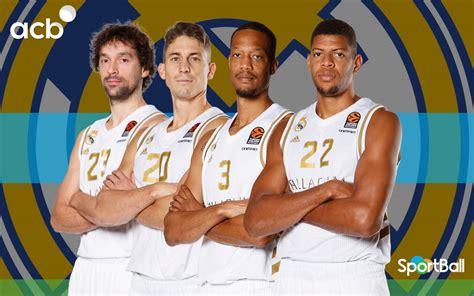 Plantilla del Real Madrid Baloncesto 2020 2021: jugadores ...