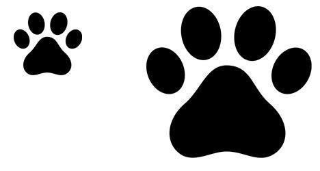 plantilla huella perro   Buscar con Google | Huellas de ...