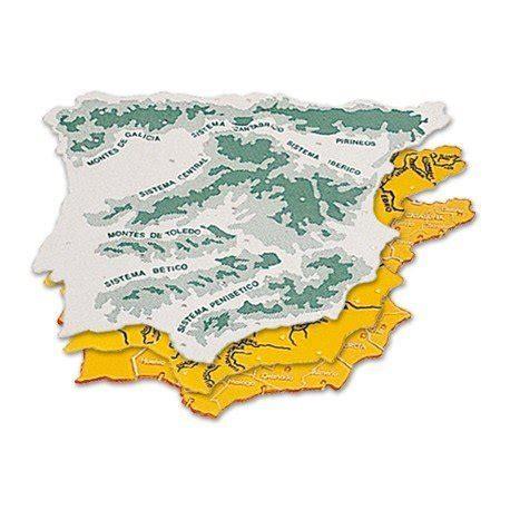 Plantilla mapa de España 22 x 18 cm  04915