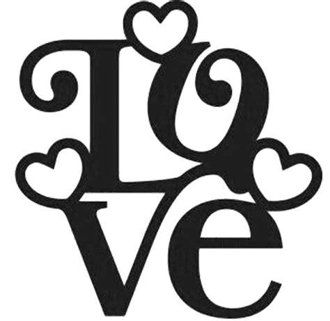 plantilla palabra LOVE para tarjeta San Valentin ...