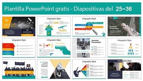 Plantilla Power Point de Arma de fuego   Plantillas Power ...