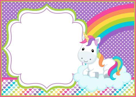 Plantilla Unicornio | Tarjetas de unicornio, Invitaciones ...