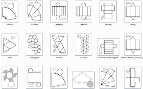 Plantillas cuerpos geométricos para imprimir   Imagui ...