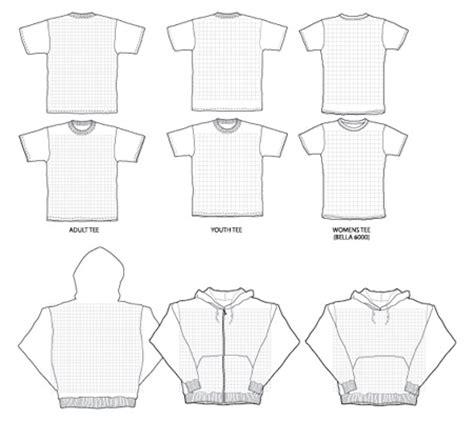 Plantillas de camistas para Photoshop e Illustrator ...