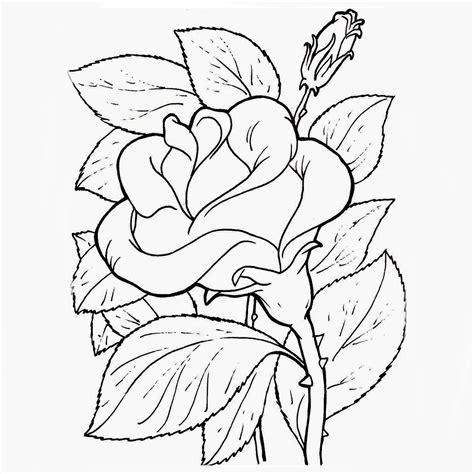 Plantillas de flores para colorear