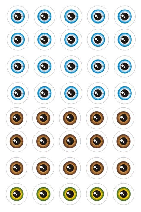 Plantillas de ojos  4  | Amigurumis | Pinterest | Craft ...
