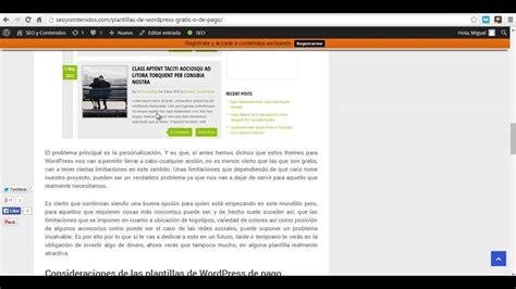 Plantillas de Wordpress gratis o de pago | Seoycontenidos ...
